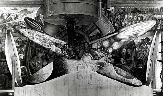 Rockefeller center 39 s greatest art scandals the bowery for Diego rivera rockefeller center mural destroyed