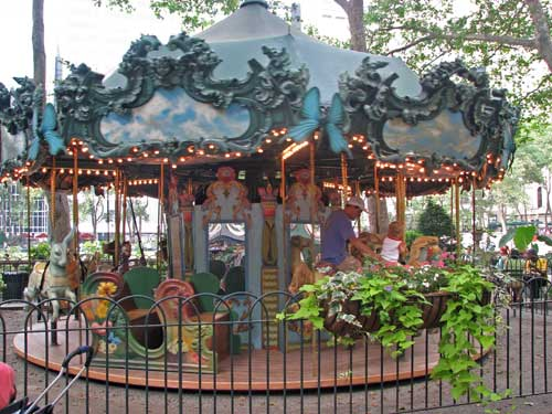 how to build a miniature carousel