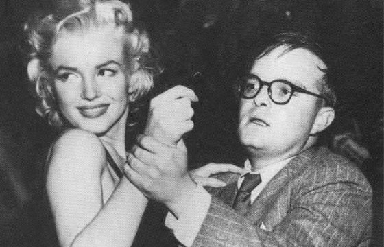 fb3f00f513 Above: Marilyn and Truman maintain their composure at the Peppermint  Lounge, an early 60s dance hole that frequently scoffed at fire codes