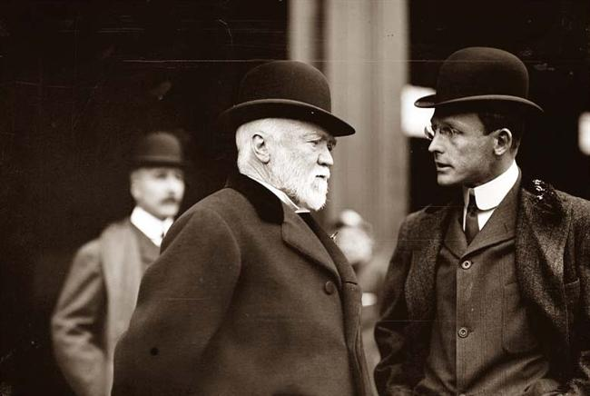Andrew Carnegie: Forced - forced - to live in luxury! - The