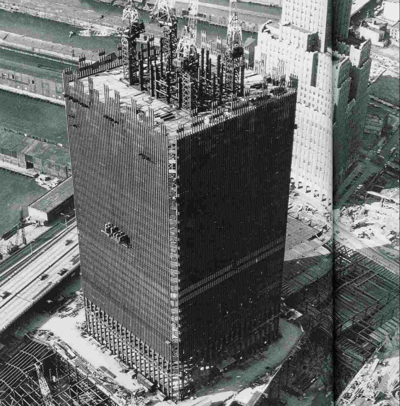 minoru yamasaki the man who made the twin towers the bowery boys new york city history. Black Bedroom Furniture Sets. Home Design Ideas