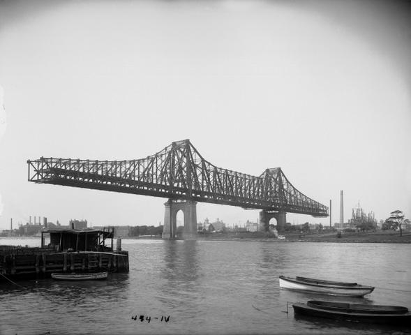 Williamsburg Bridge Engineer Leffert L Buck The New Queensboro Would Be First To Link Manhattan Queens A Newly Created Borough At Time
