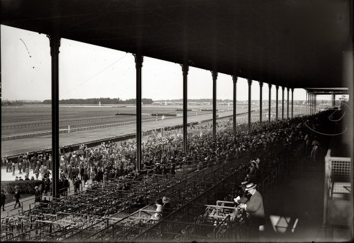 It S Belmont Park By A Nose The Bowery Boys New