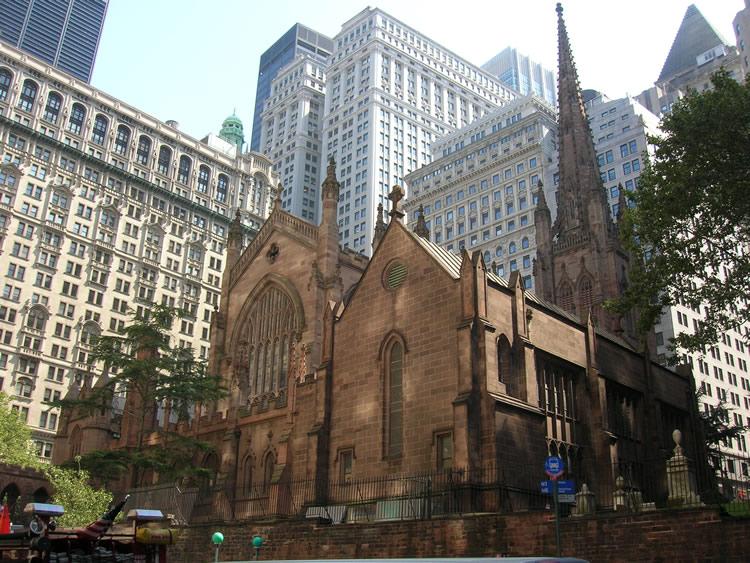 Trinity Church Anchor Of Wall Street New York S Landlord
