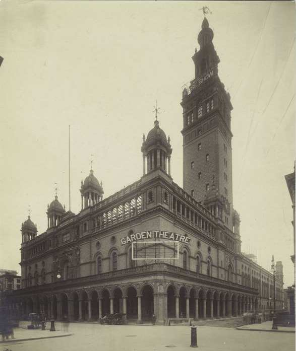 Madison Square Garden II, Designed By Stanford White, Studded With Towers,  Weathervanes, Grand Arches And Other Moorish Touches. (Courtesy NYC  Architecture ...