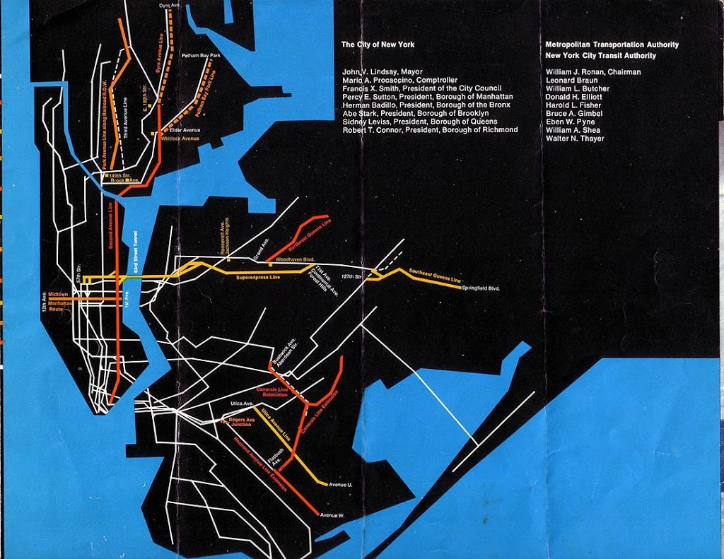 New York City Subway Archives Page  Of  The Bowery Boys New - Nyc subway map j train