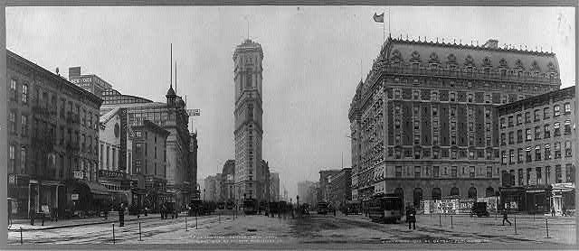 A Trip To Times Square 1904 The Hotel Astor Arrives The