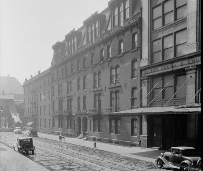 Apartment Building History notes from the podcast (#131) the first apartment building - the