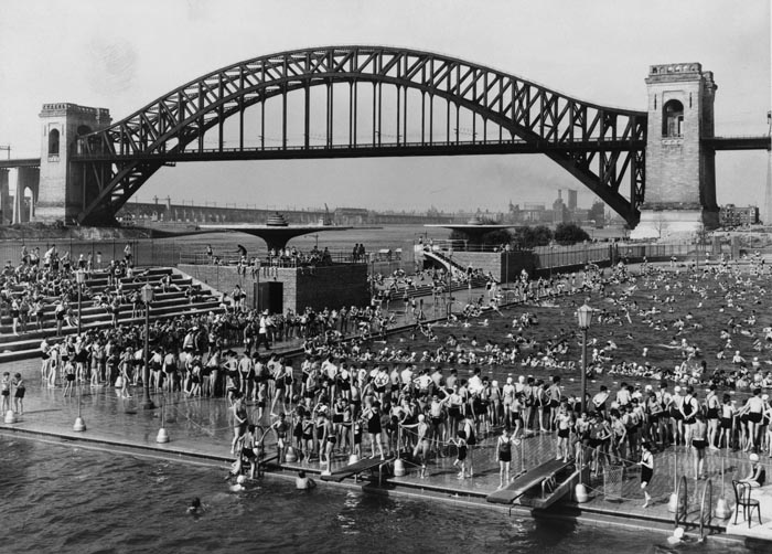 Nostalgia For Astoria Pool An Early Robert Moses Project