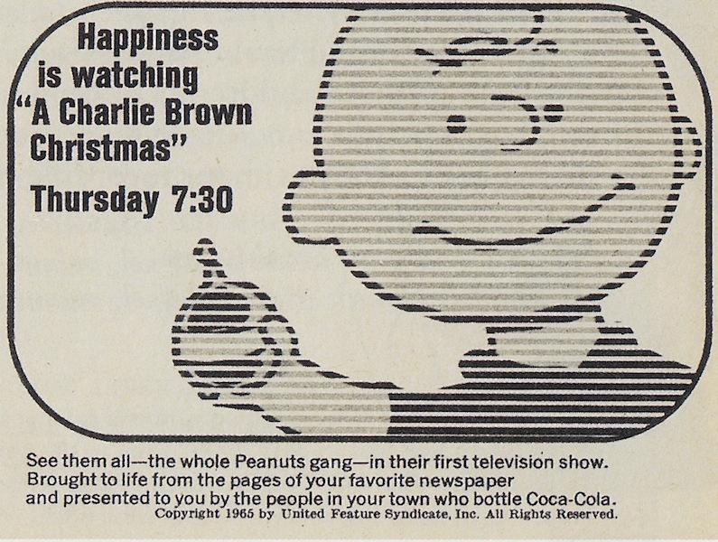 new yorks madison avenue connection to cbss original broadcast of a charlie brown christmas the bowery boys new york city history - Charlie Brown Christmas On Tv