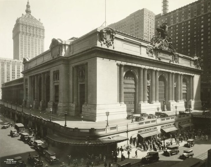 a history of the grand central station in new york city Excavations for grand central station, new york city find this pin and more on new york history by historificcouk  the bowery boys: new york city history.
