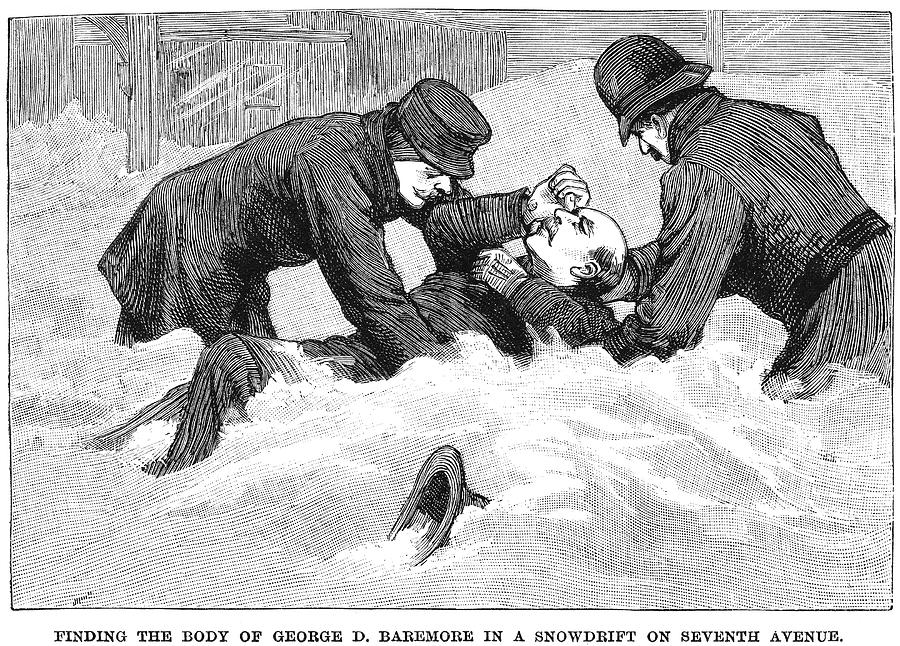 Frozen In Time The Blizzard Of 1888 Knocks New York City