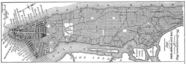 The Measure Of Manhattan The Grid Plan Of New York Comes To Life