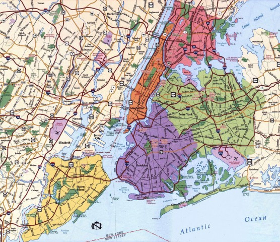 Map Of New York Five Boroughs.Consolidation The Tale Of Five Boroughs And One Big City