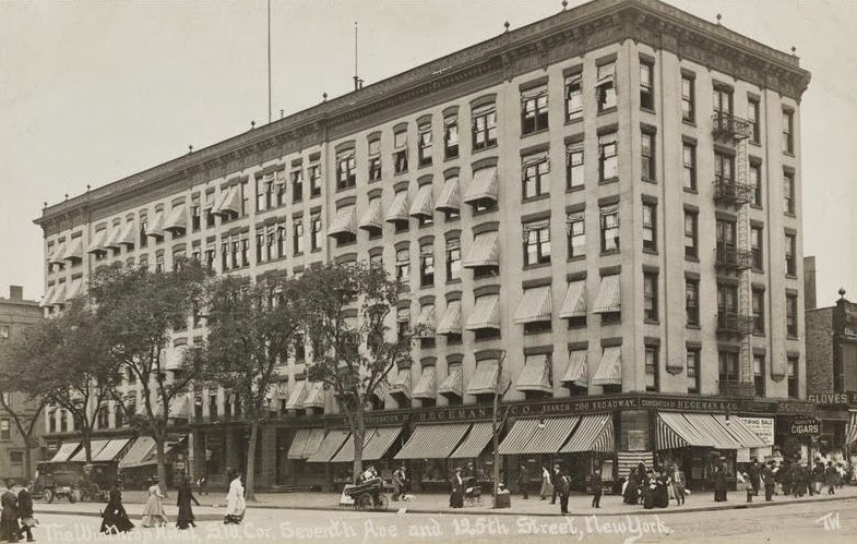 The Hotel Winthrop Which Sat On Spot Of Theresa Before It Was Torn Down In Early 1910s Deemed A Bit Inadequete For Growing Neighborhood