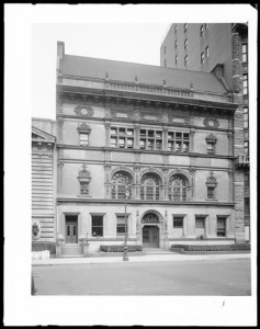 215 West 57th Street. Fine Arts Building [Art Students League].