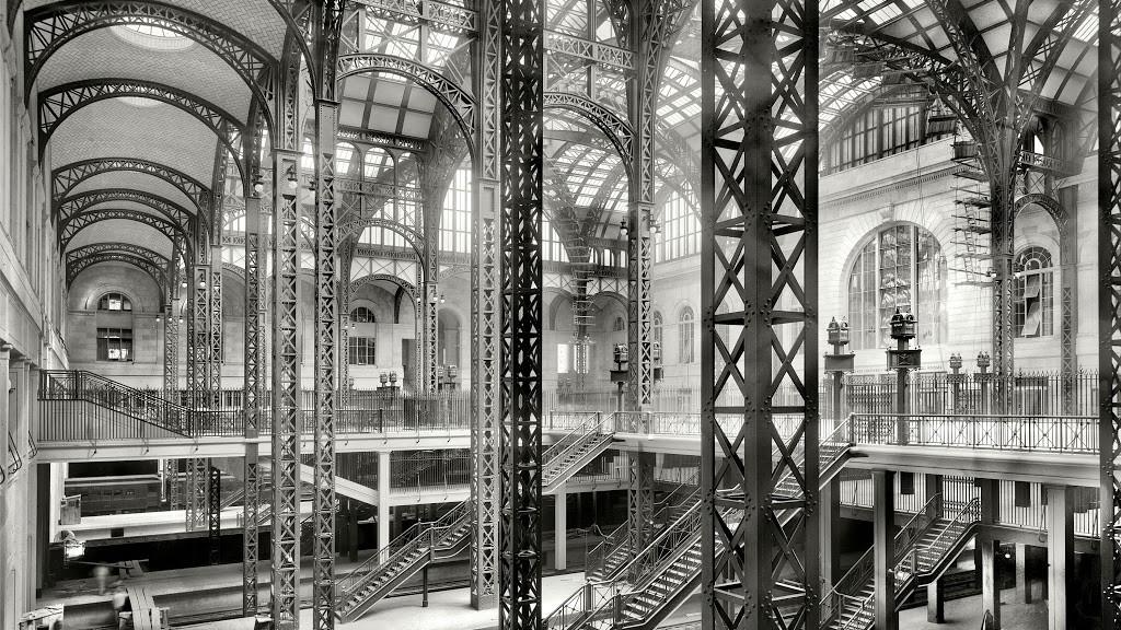 Penn station archives the bowery boys new york city history - Madison square garden penn station ...