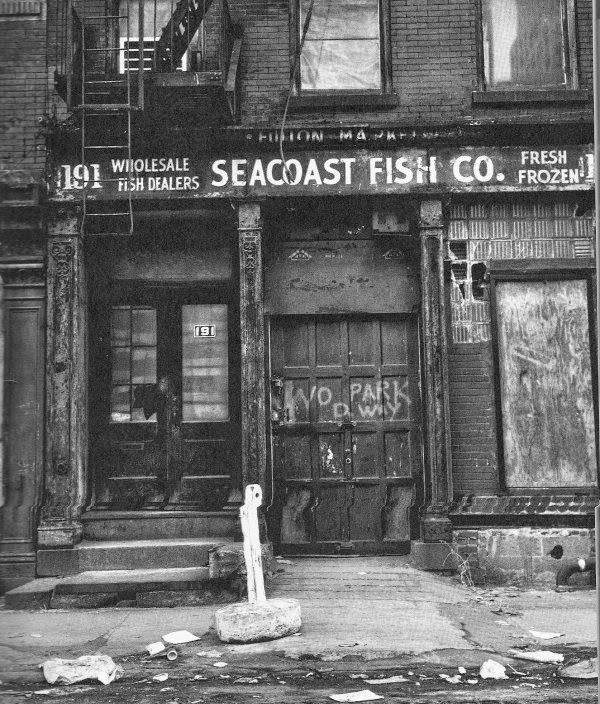 South street seaport archives the bowery boys new york for Fish tag nyc