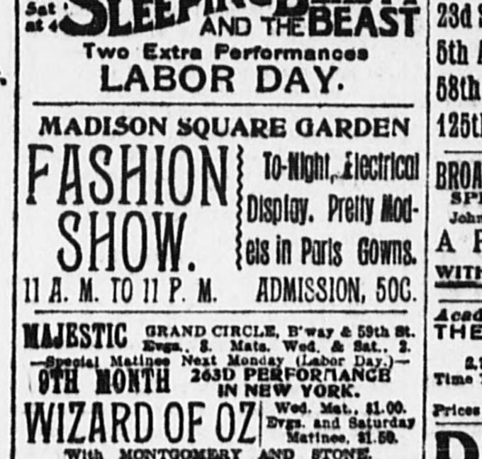 from September 4, 1903, New York Evening World