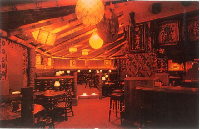 Trader Vic's in the basement of the Plaza (courtesy the blog TikiRoom)