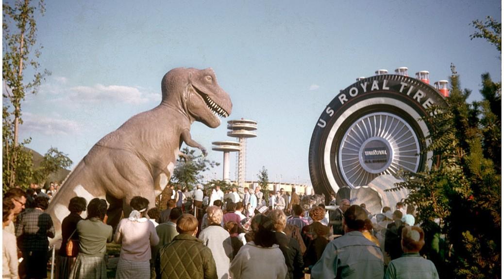 Opening the World's Fair that day:  Mayor Willie Brandt of West Berlin; Robert Moses naturally;  Vice President Hubert Humphreys; Chief Justice Earl Warren and New York Mayor Robert Wagner