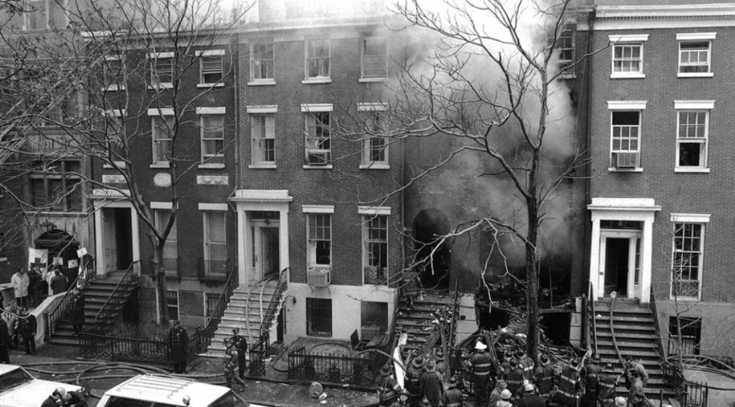 Greenwich Village Townhouse Explosion 1970