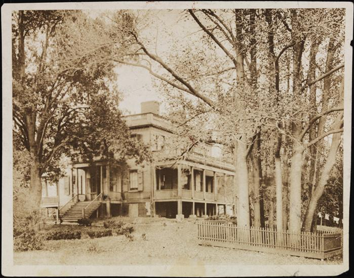 Hamilton Grange in 1895, courtesy Museum of the City of New York