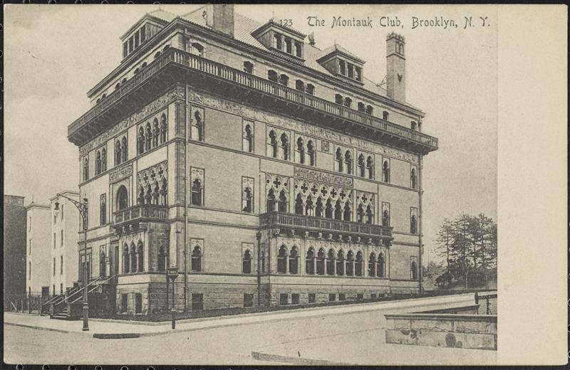 Montauk Club, 1905, Courtesy Museum of the City of New York