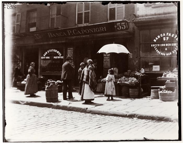 Photo by Jacob Riis, 1895, courtesy Museum of City of New York
