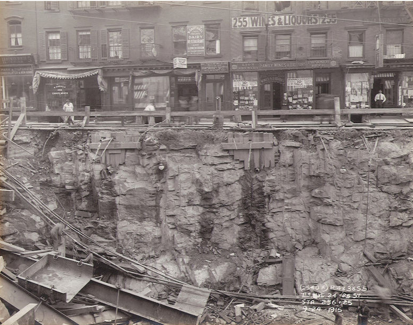 100 Years Ago Today Seventh Avenue Collapsed Under Rush