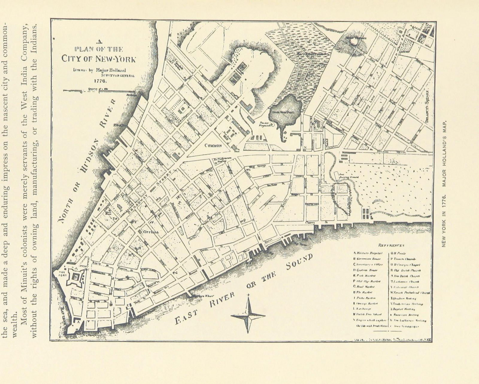 Map Of New York 1776.Perilous Night The Great Fire Of 1776 The Bowery Boys New York