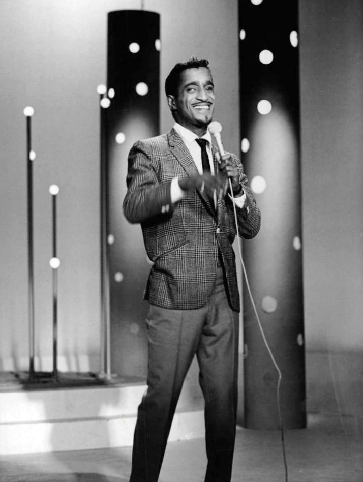 Davis, 1966, on the Perry Como Show for NBC
