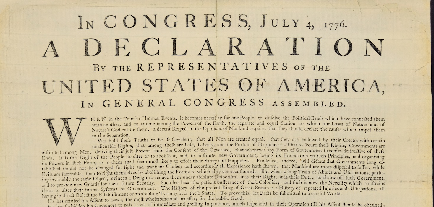 photograph about Printable Copy of the Declaration of Independence known as Upon the verge of revolution: The tale of George Washingtons
