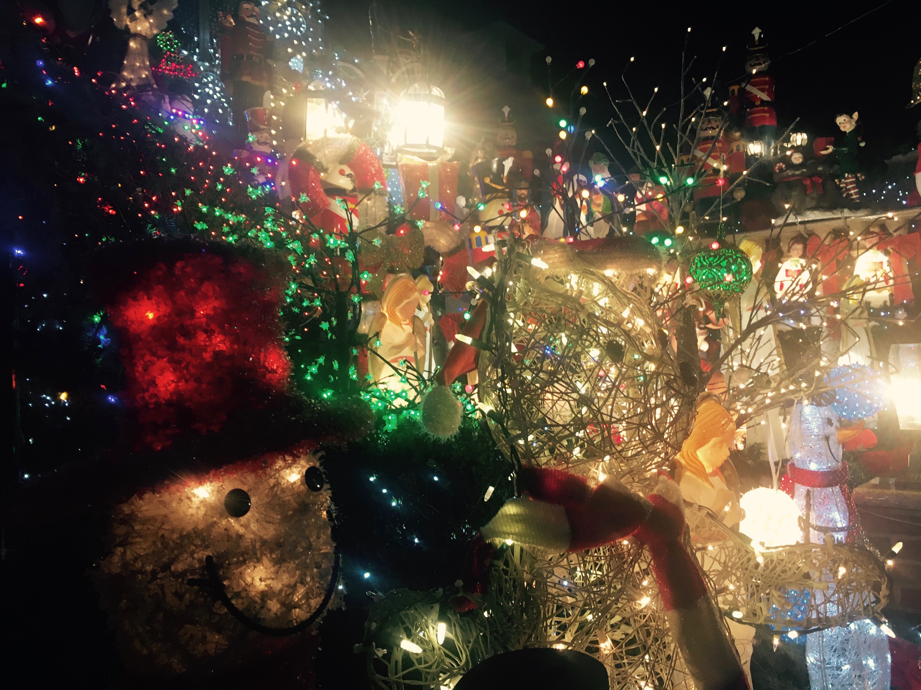 festively bonkers welcome to the dyker heights christmas light show the bowery boys new york city history