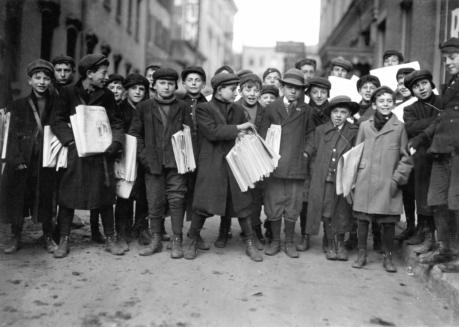 Newsies On Strike The Thrilling Tale Of New York Newsboys