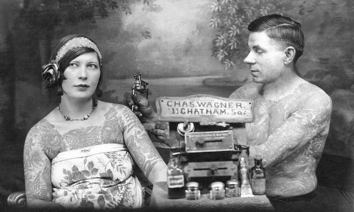 The Bowery Wizards: A History of 19th Century Tattooing in New York ...