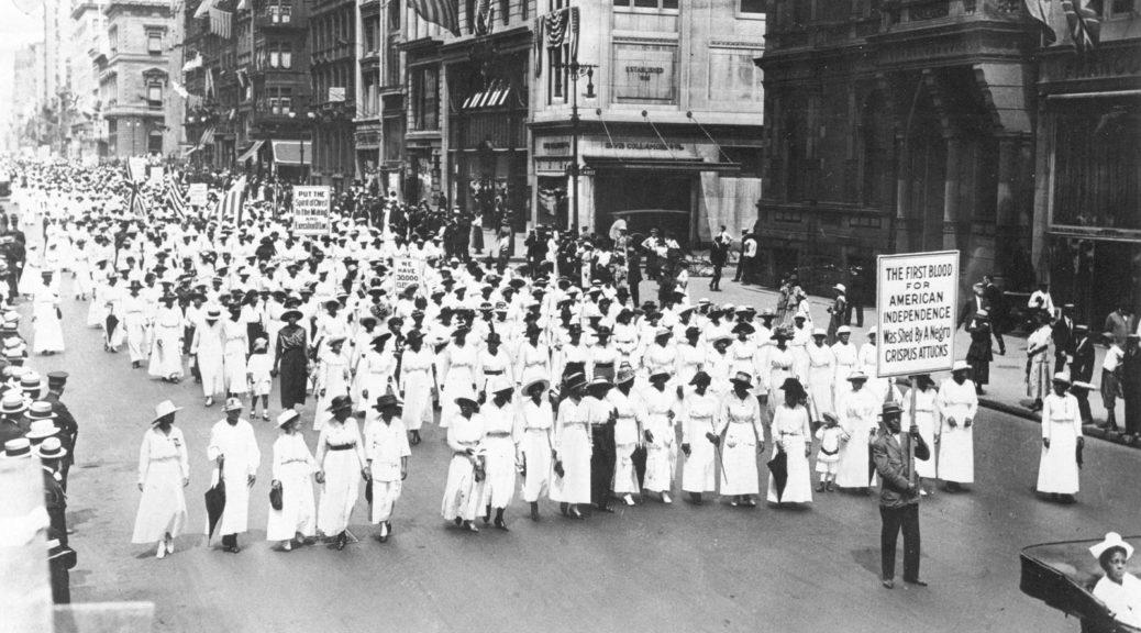 100th Anniversary of the Silent Parade; Quianna Canada in Austin, Texas; Quiann Canada activist