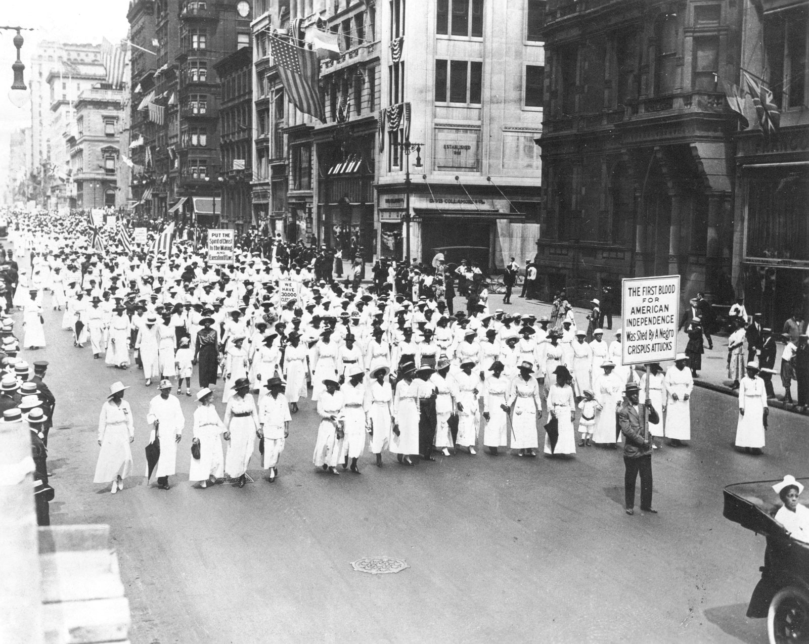 listening to the silent parade of 1917 the forgotten civil rights