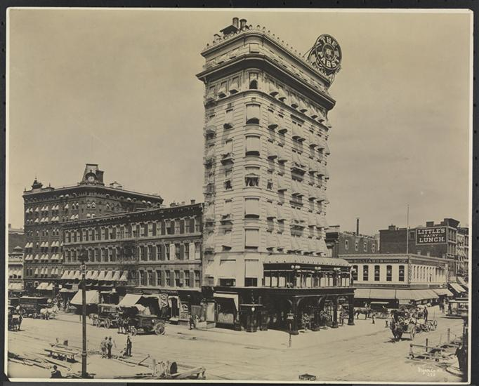 Pabst Blue Ribbon Architecture From Old New York The
