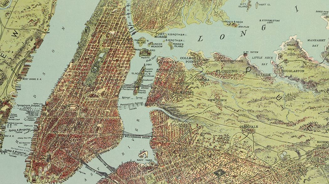 Map Of Greater New York City.Greater Gotham Admiring The Biggest Most Important New York City