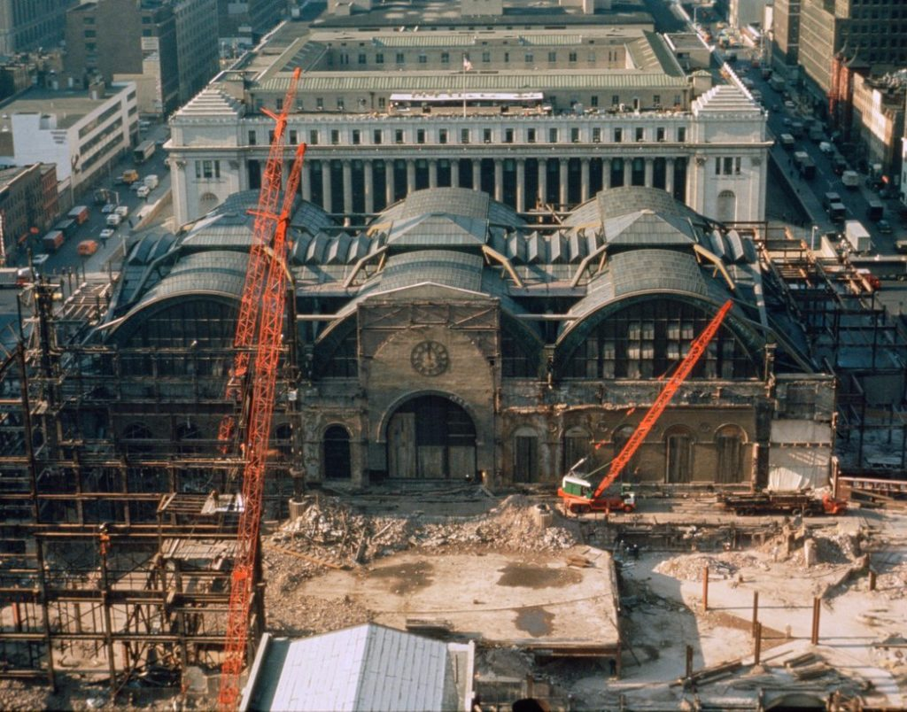 The Destruction Of Penn Station Quot One Entered The City