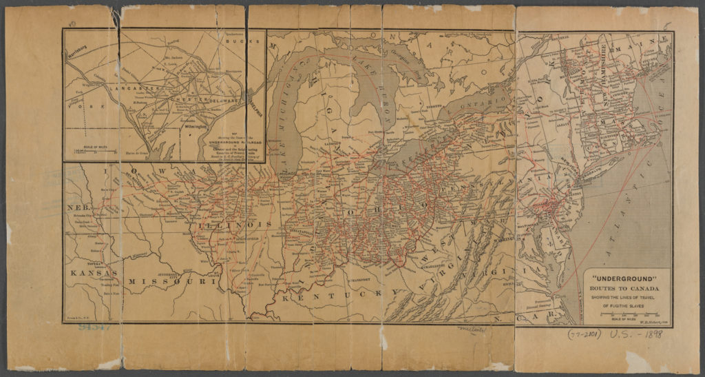Underground Railroad New York Map.New York City And The Underground Railroad Escaping To Freedom