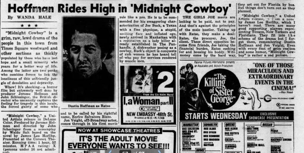 Midnight Cowboy: 25 fascinating New York details, in