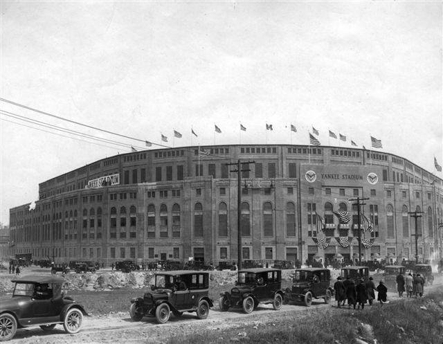 Yankee Stadium Opening Day: April 18, 1923 - The Bowery Boys: New ...