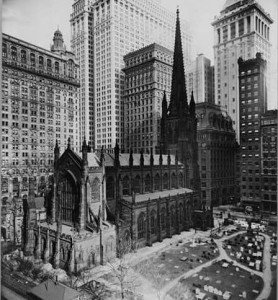 An historical sketch of Trinity Church, New