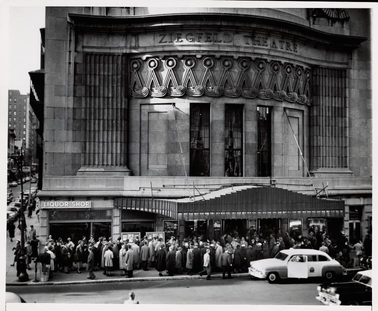 Windswept Melodrama And Vicious New York Critics The Strange Story Of The Ziegfeld Theatre S Longest Running Film The Bowery Boys New York City History