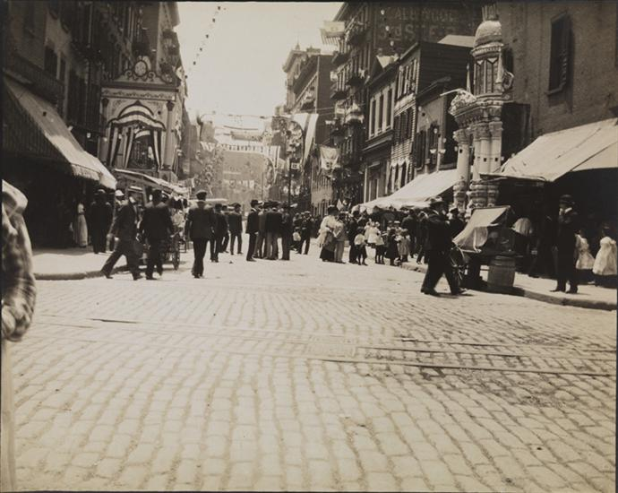 Elizabeth and Broome Streets -- June 18, 1904