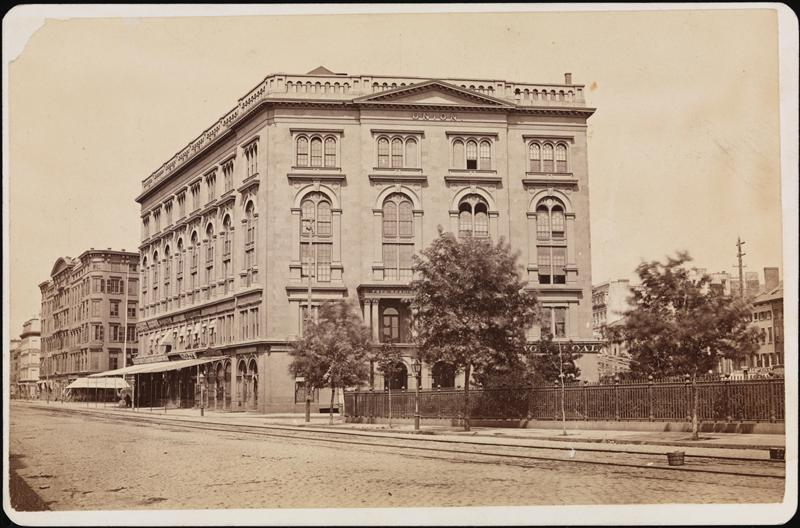Cooper Union 1875, courtesy Museum of the City of New York