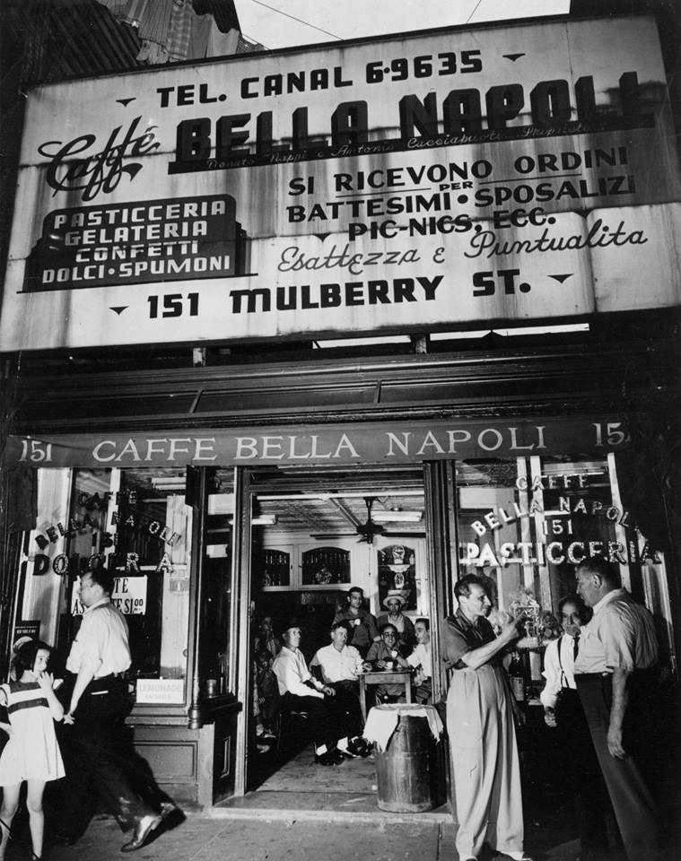Bella Napoli (taken from a great Facebook feed called 'Mulberry Street 1900s)