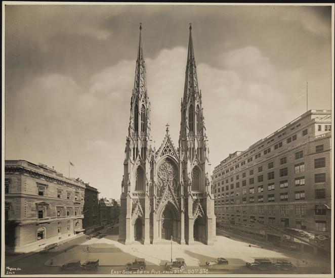 St Patrick's Cathedral 1923